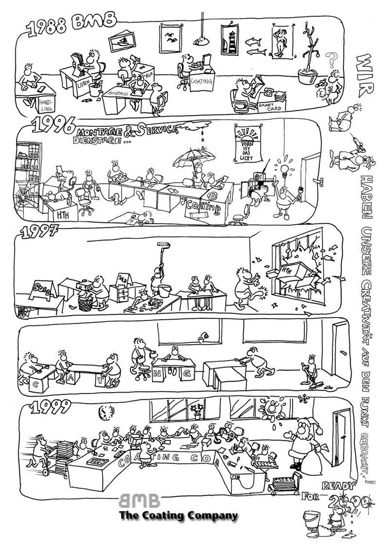 BMB Comic von 1988 bis 2000