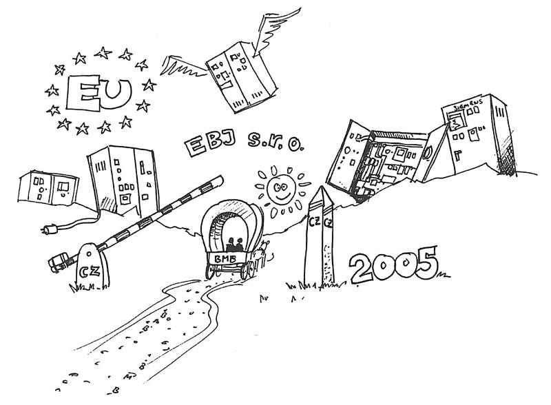 Comic BMB EU Gründung Rumänien 2005