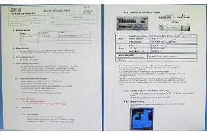 Beschichtungsanlage Arbeits-Dokumente System