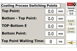 Beschichtungsanlage Prozesscontrolling